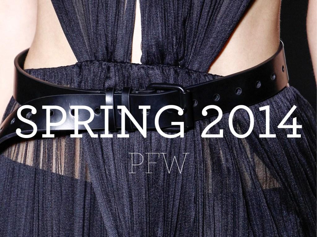 Spring 2014 – PFW