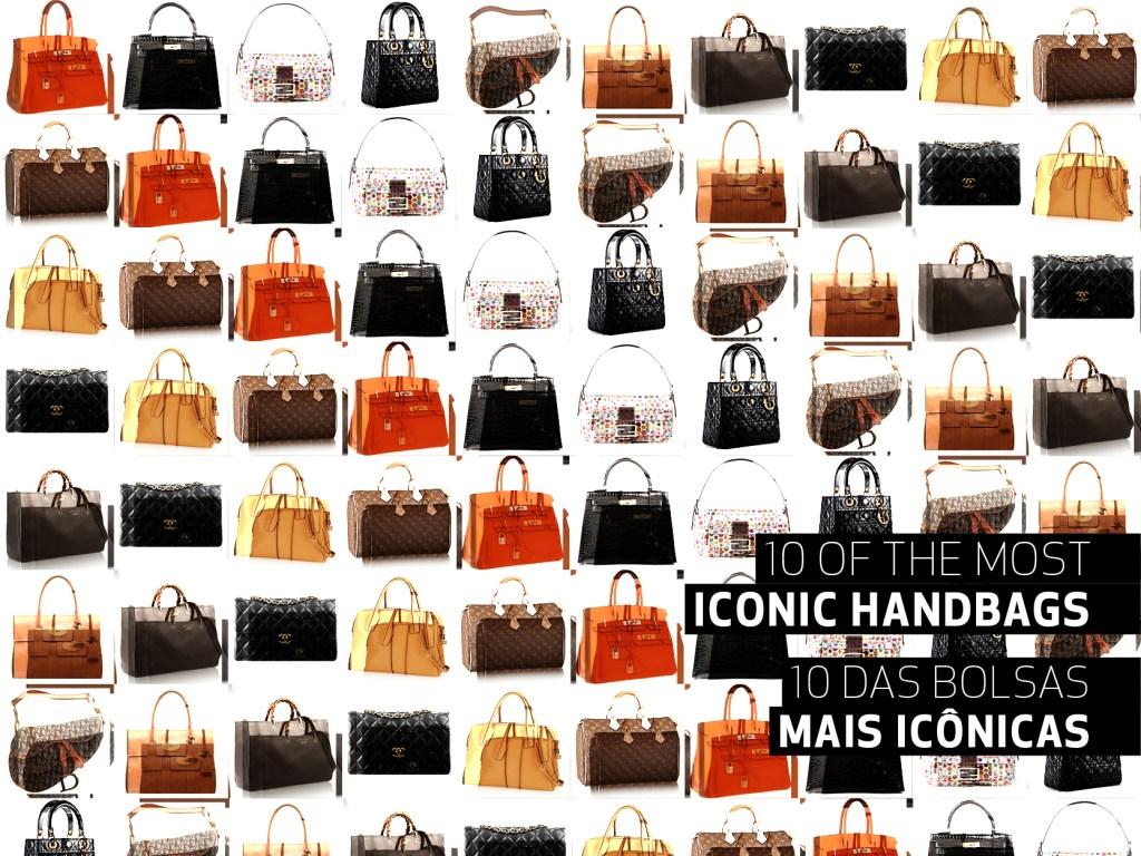 10 Iconic Handbags || 10 Bolsas Icônicas