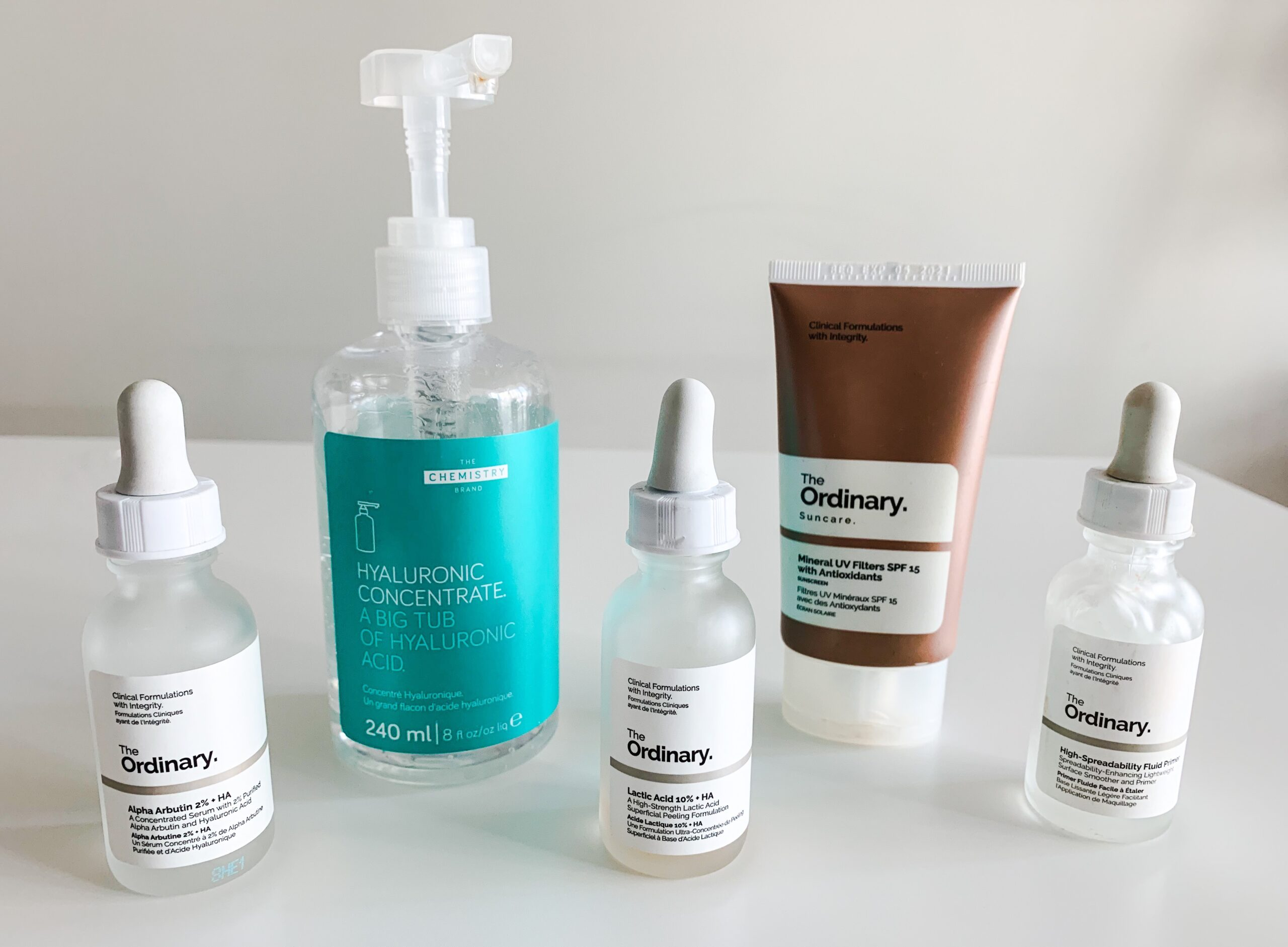 My love for Deciem products