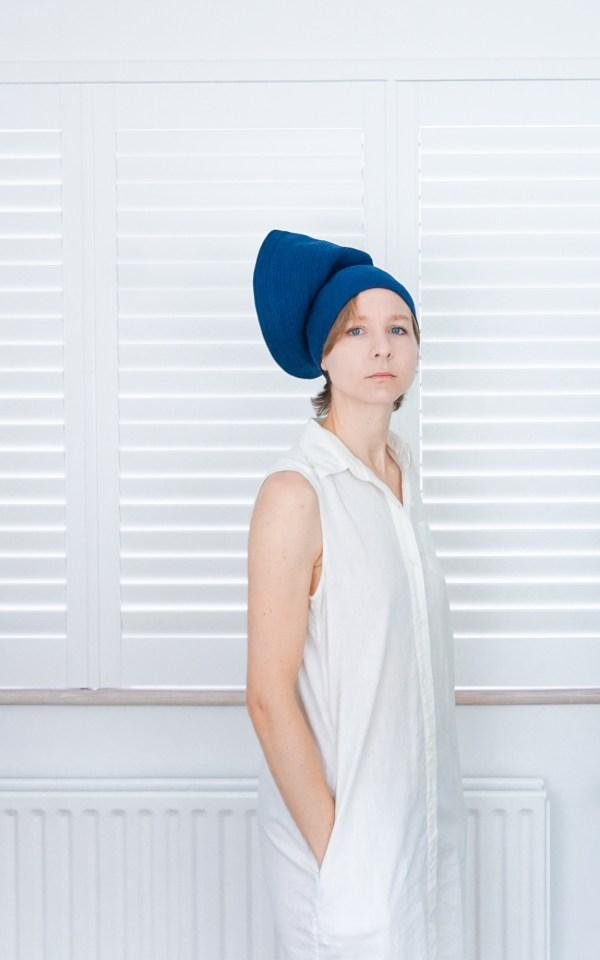 Valeria Fazekas unique hats for unique minds