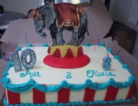 We designed the cake and Tripoli bakery made it! PerfecT!