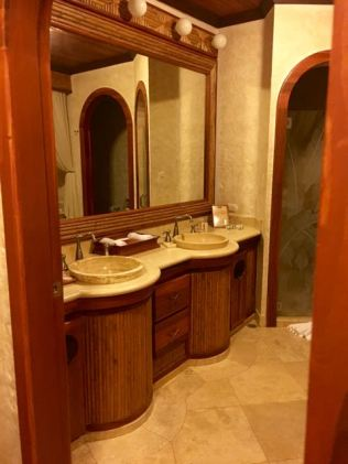after a swank closet was the bathroom