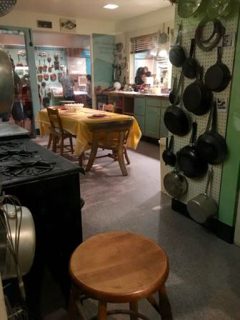 Julia Child's kitchen!!