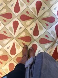 Jaleo's flooring