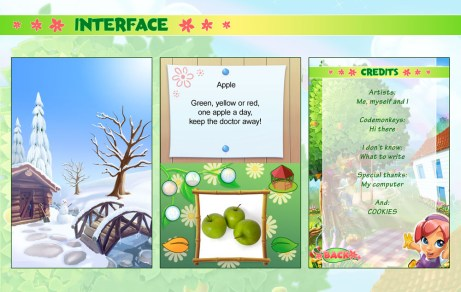 Let's Play Garden: Interface DS