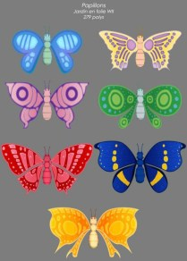 Let's Play Garden: Les Papillons