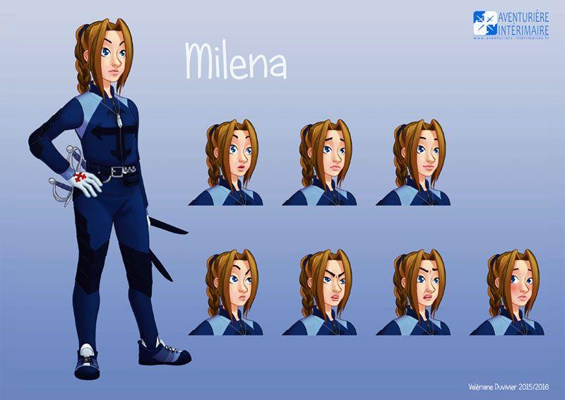 Aventurière Intérimaire: Milena