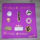 Tableau : Les pâtisseries