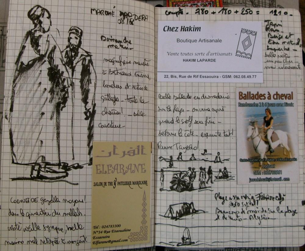 Carnet de voyage Maroc 08.