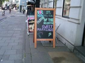 Even Baskin Robbins gets into the matrimonial spirit