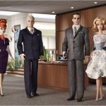 Barbie Dolls as characters from Mad Men AMC televsion show