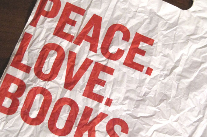 Peace. Love. Books. - crop
