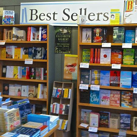 Brilliant Books best sellers shelves