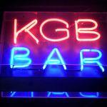 KGB Bar Sign