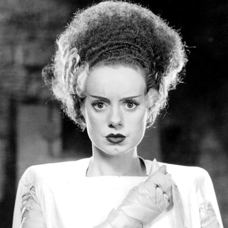 picture of Elsa Lancaster as the Bride of Frankenstein