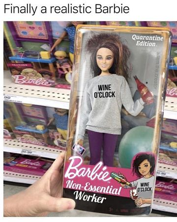 Covid Barbie