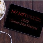 shot of New York Women in Film & TV 2020 online film festival logo