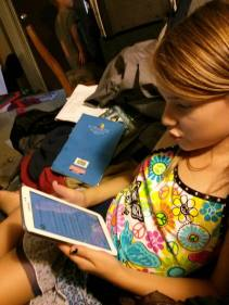 Reading on the Tablet