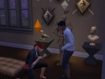 Ashton Gets Down on One Knee