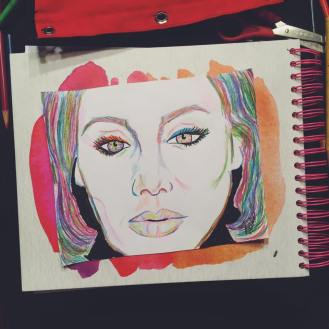 """Adele in Color"""