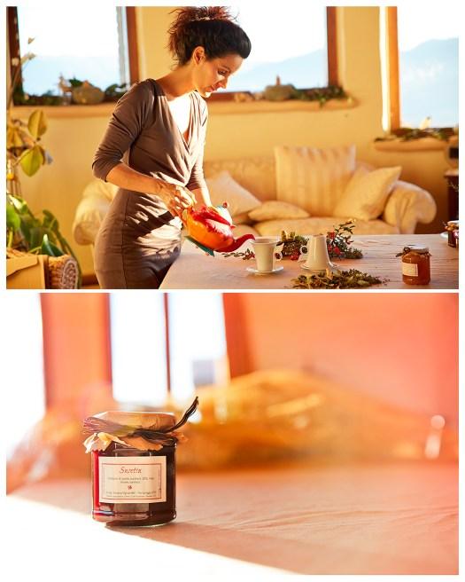 Viviana Vignandel e i prodotti della casa di paglia