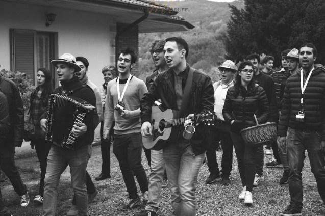 I cantori della Galina Grisa a Romagnese