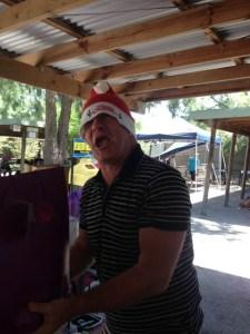 crazy MRM Santa