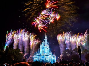 DISNEY Christmas Fireworks
