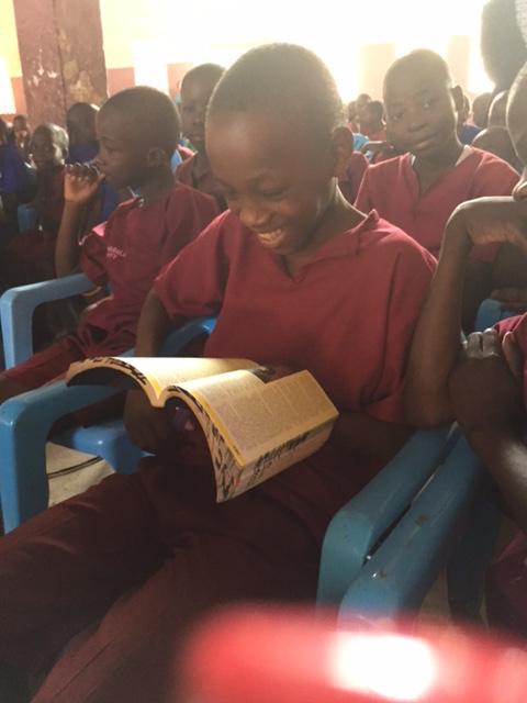 GS child with Bible