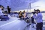 Shooting à bord du Floatinn avec le Club de l'élegance