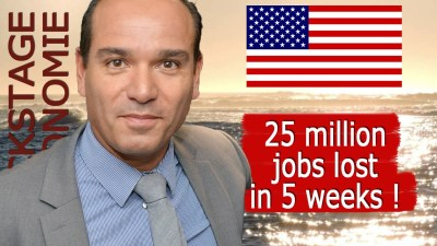 25 million jobs lots in 5 weeks