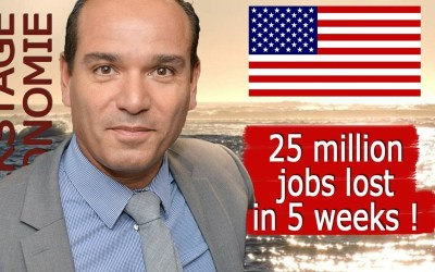 USA : plus de 25 millions d'emplois perdus !