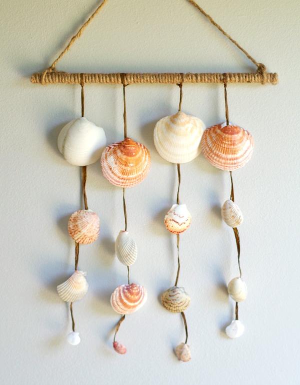 DIY Seashell Wall Hanging Val Event Gal