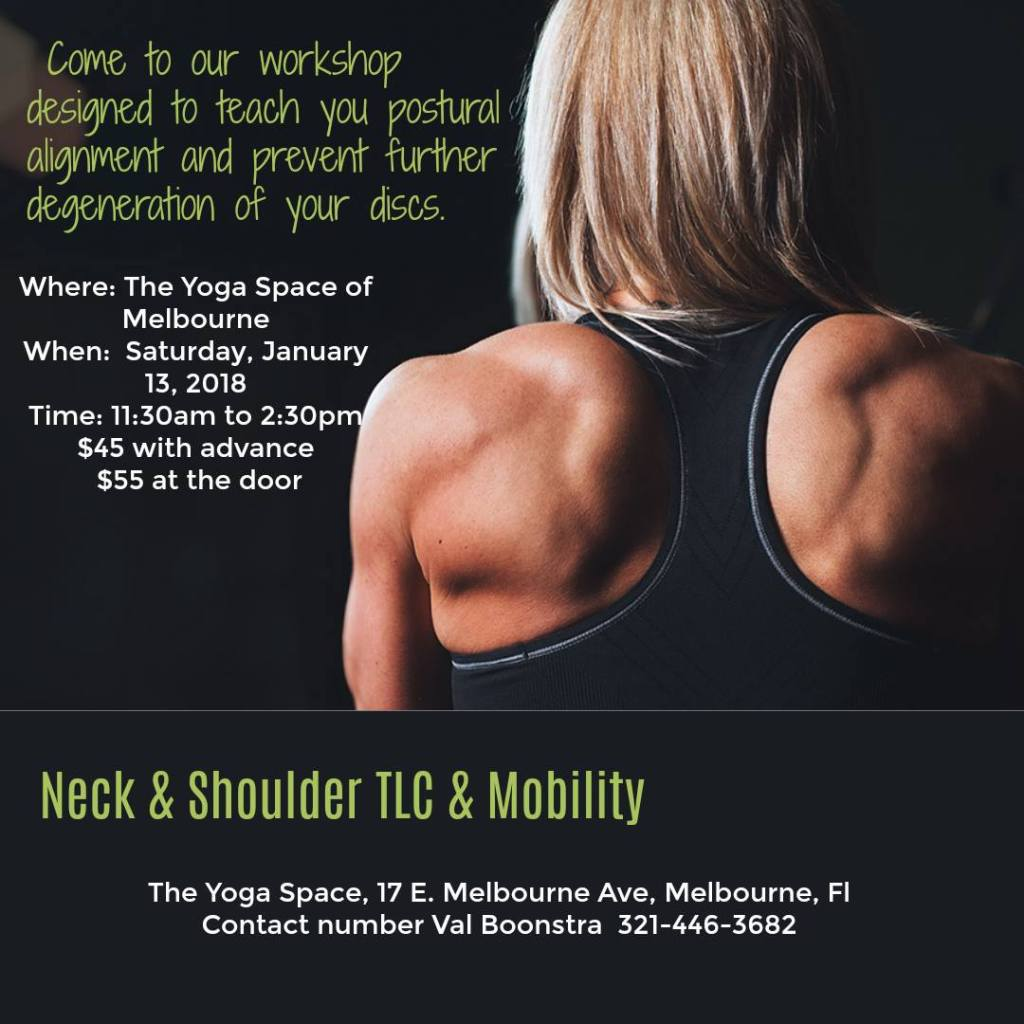 val healing seminar for neck and shoulder pain, pain that radiates down my legs, valentine boonstra training