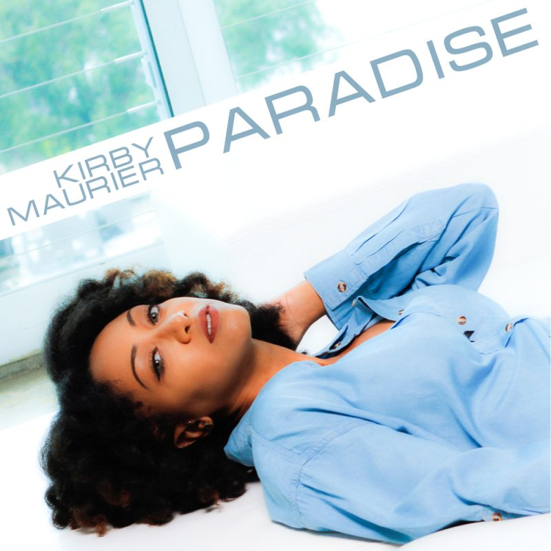 "Kirby Maurier's single cover for ""Paradise"""