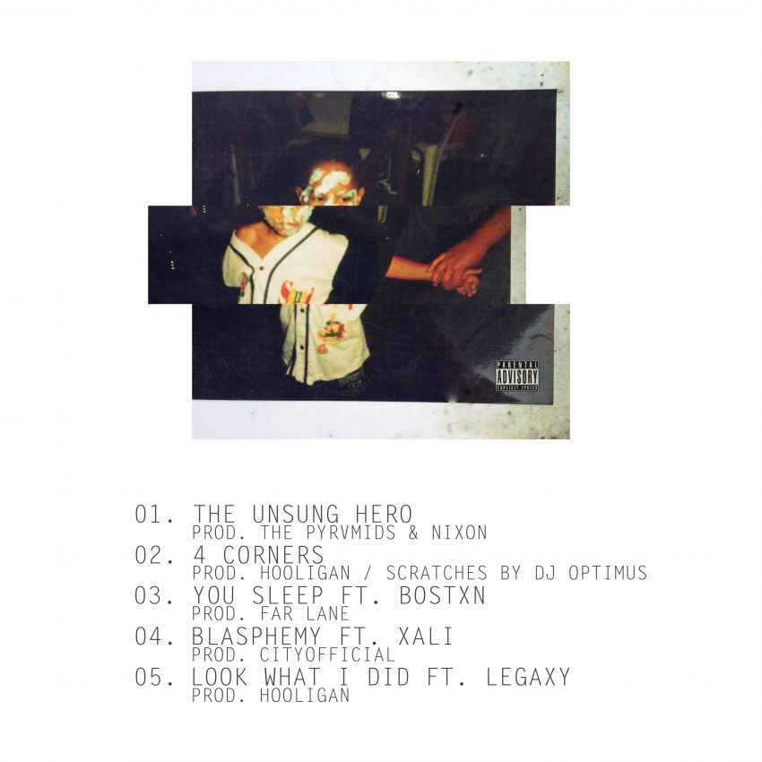 SIN - Victory Lap EP Tracklisting