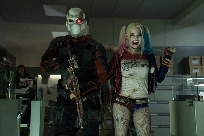 Will Smith & Margot Robbie Suicide Squad / WB / DC