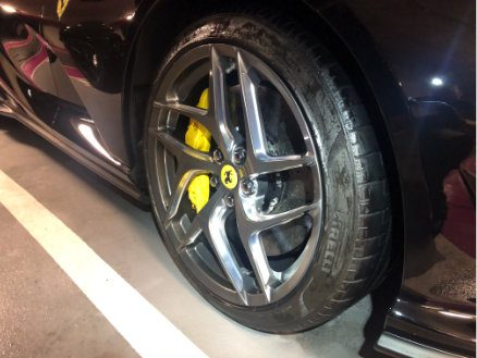 Wheels and tyres dressing