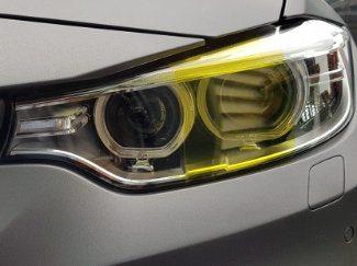 Yellow Headlight & Tail Tint