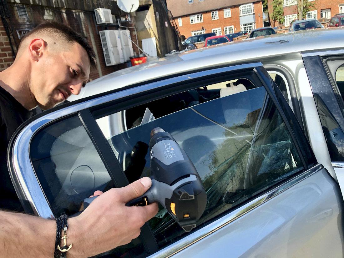 Carbon Premium Window Tinting - £120