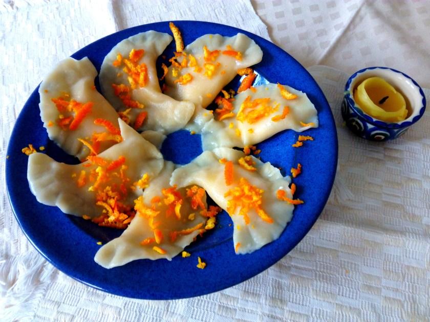 Vareniki with cottage cheese recipe