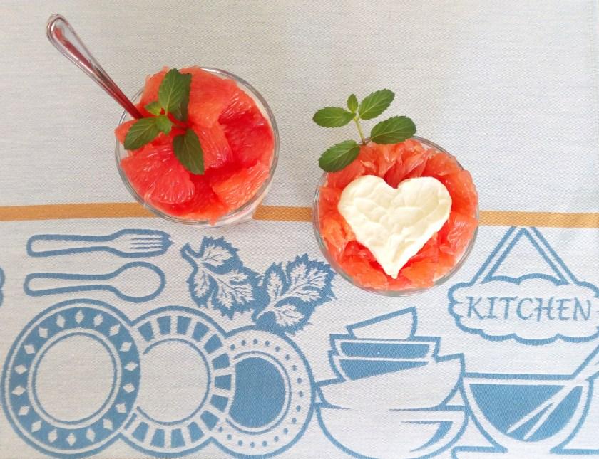 Grapefruit-Mascarpone Dessert Recipe