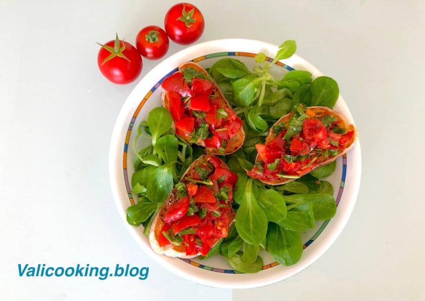 Bruschetta with Tomatoes Recipe
