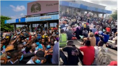 Photo of Breaking!! Soldiers Attacks Protesters In Lagos