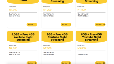 Photo of MTN 4G LTE Data Plans and Codes