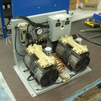 Auxiliary Air Compressor built by Valid Manufacturing in Salon Arm.