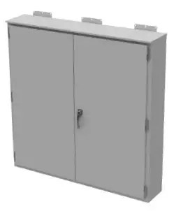 Weatherproof Meter Enclosure With 3 Point Latch