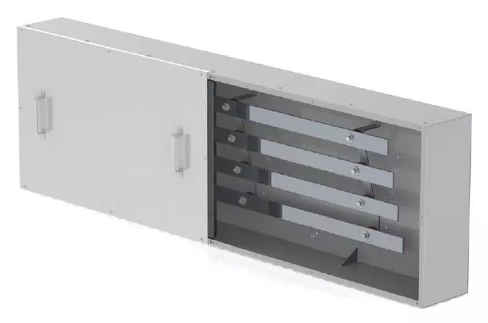 Four bar Type 1 Continuous Bus Splitter Trough