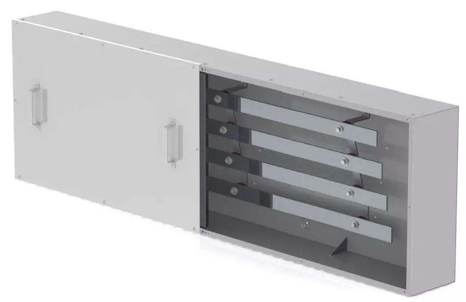 4 bar, Type 4 Continuous Bus Splitter Trough