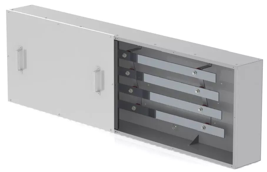 4 bar Type 4X Continuous Bus Splitter Trough